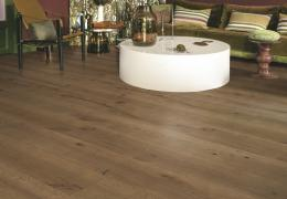 Quick-Step Parket Massimo Donkere chocolade Eik Geolied