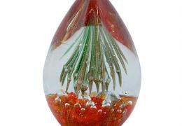 Glas Object Mossapour Meduse 13cm