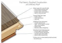 COREtec HD Planks Wind River Oak