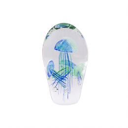 Glas Object Mossapour Qualle 8674