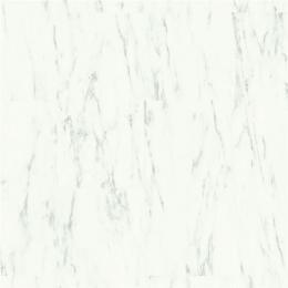 Quick-Step Livyn Alpha Vinyl Tiles Carrara Marmer Wit