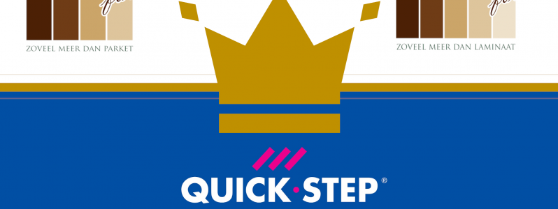 Laminaat & Parket Forum is nu Royal Quick Step Partner !!!