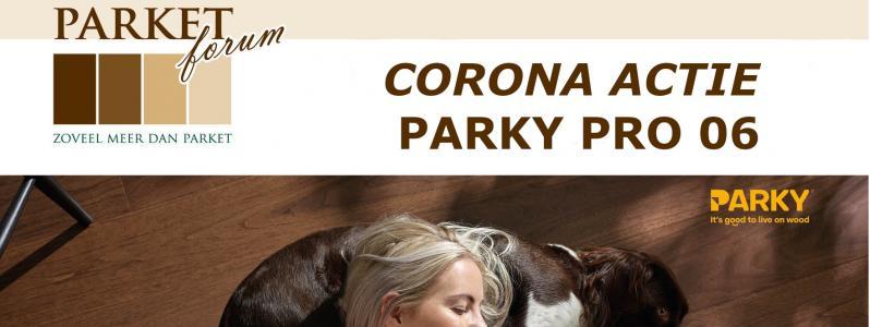 Corona actie extra korting op de Parky Pro 06!