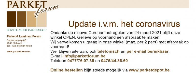 Ondanks Coronamaatregelen blijft winkel open op afspraak!